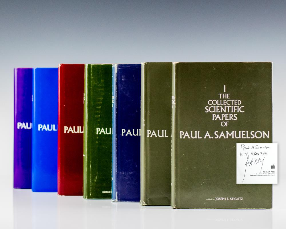 The Collected Scientific Papers of Paul A. Samuelson. Volumes I-VII.