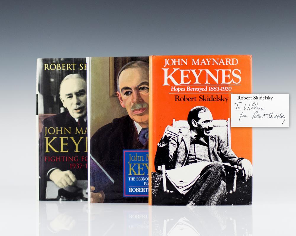 John Maynard Keynes: Hopes Betrayed 1883-1920; The Economist as Savior 1920-1037; Fighting For Britain 1937-1946.