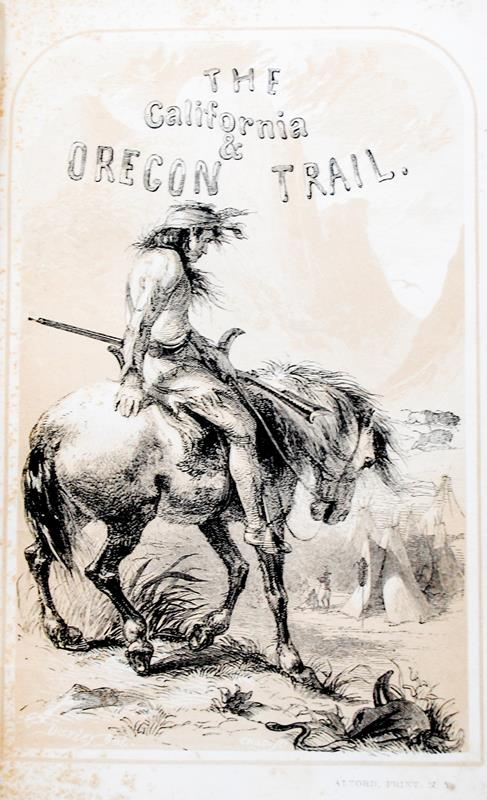 The California and Oregon Trail.