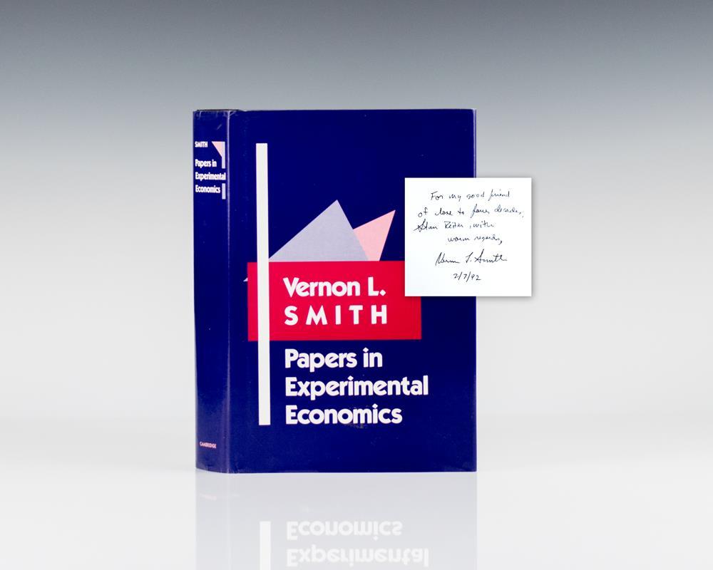 Papers in Experimental Economics.