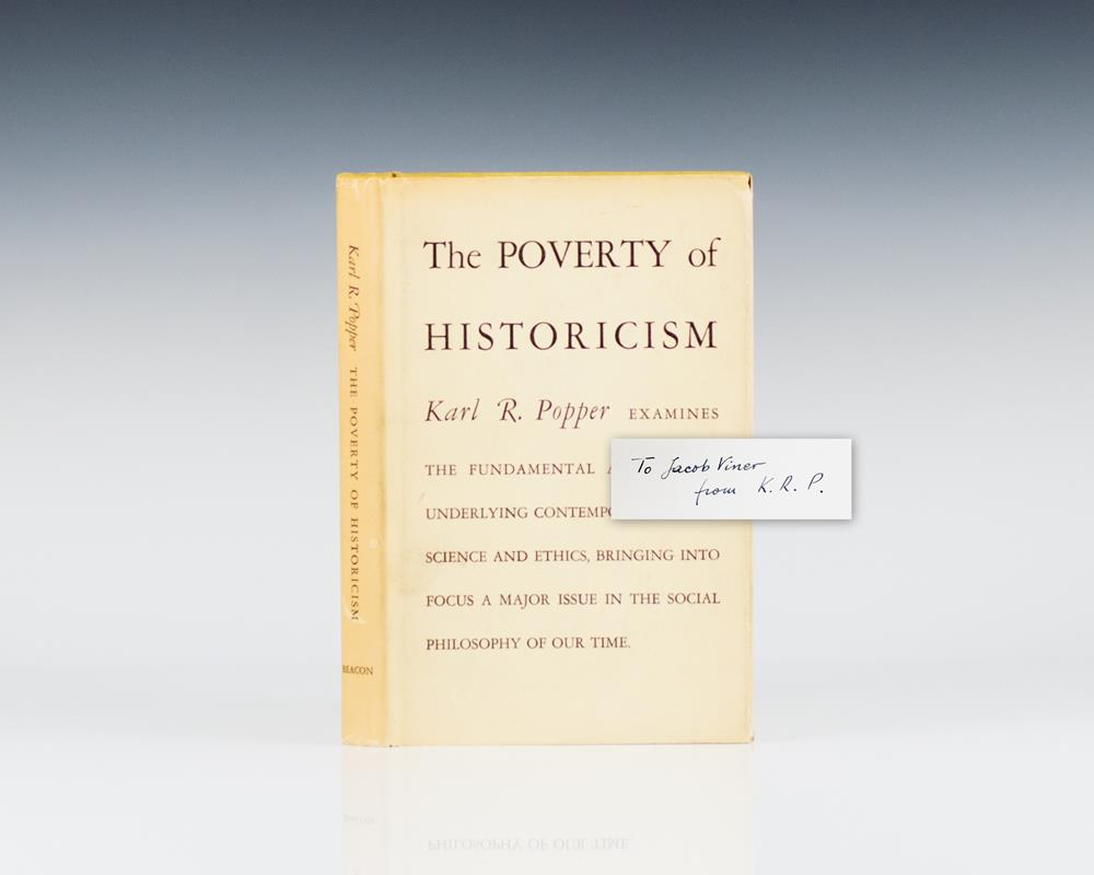 The Poverty of Historicism.