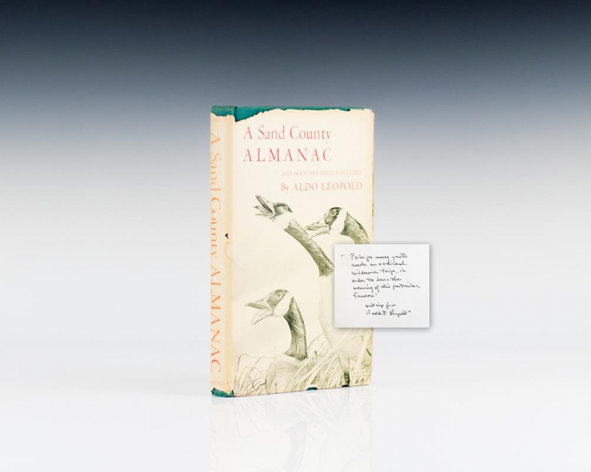 a sand county almanac A sand county almanac with other essays on conservation from round river second edition aldo leopold written with an unparalleled understanding of the ways of nature.