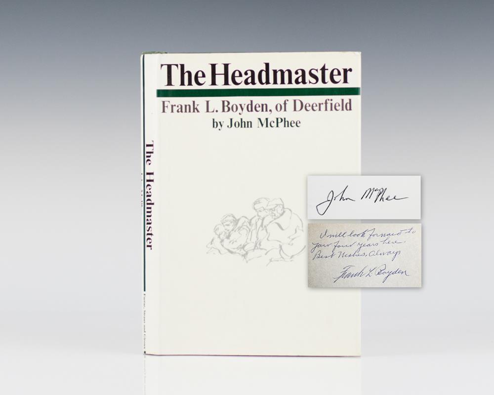 The Headmaster.