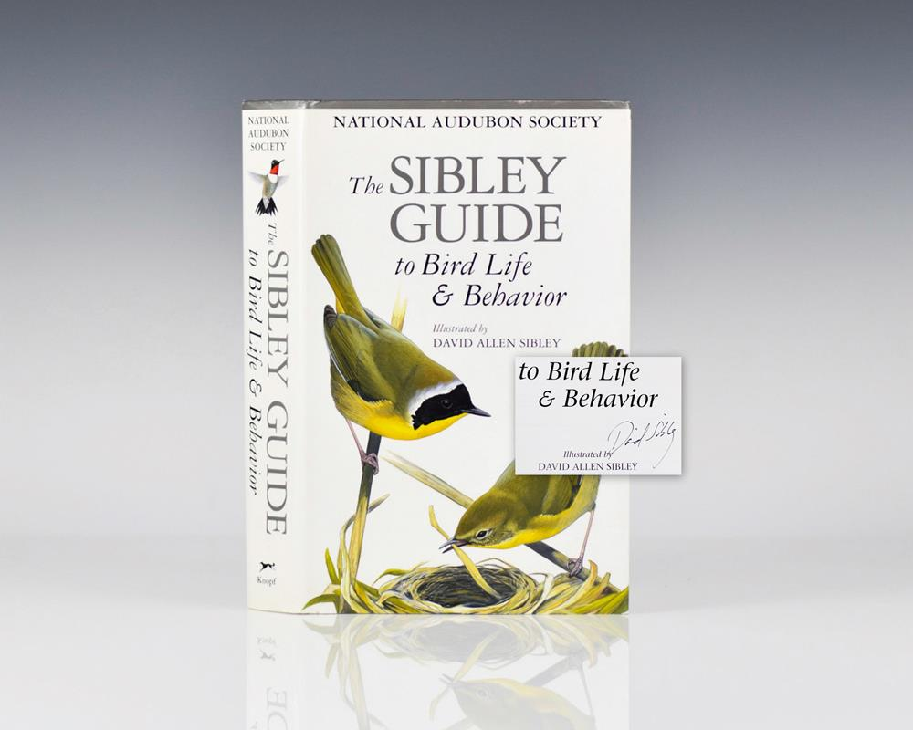 The Sibley Guide to Bird Life & Behavior.
