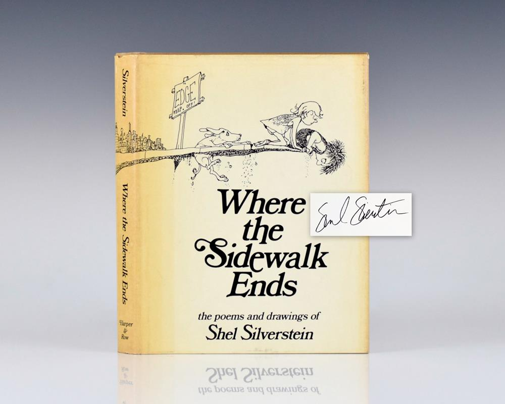 Shel Silverstein Books: Where The Sidewalk Ends: Poems And Drawings.