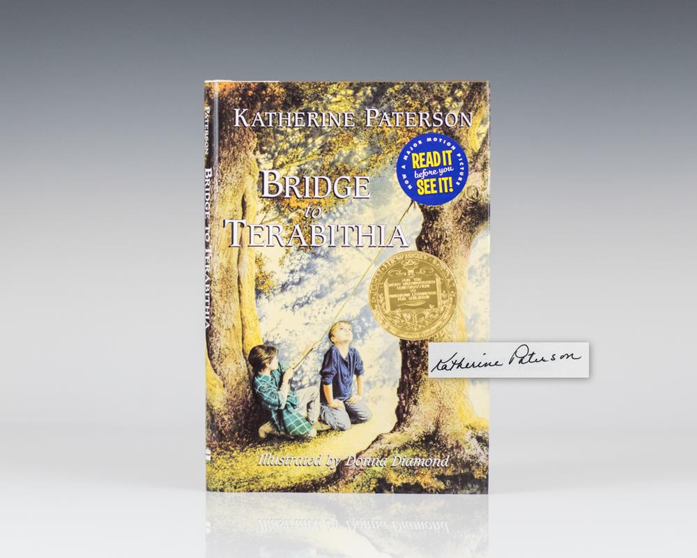 bridge to terabithia by katherine paterson Bridge to terabithia, by katherine paterson, is a newbery medal-winning  children's classic originally published in 1972, it is the story of an unlikely  friendship,.