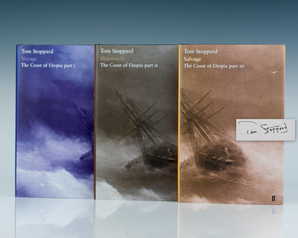 The Coast of Utopia: Shipwreck, Salvage, Voyage.