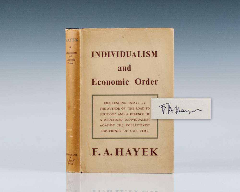 Individualism and Economic Order.