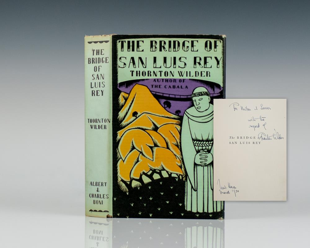 bridge of san luis ray study The bridge of san luis rey is a 2004 drama film directed by mary mcguckian and featuring an ensemble cast it is based on thornton wilder's novel of the same name.