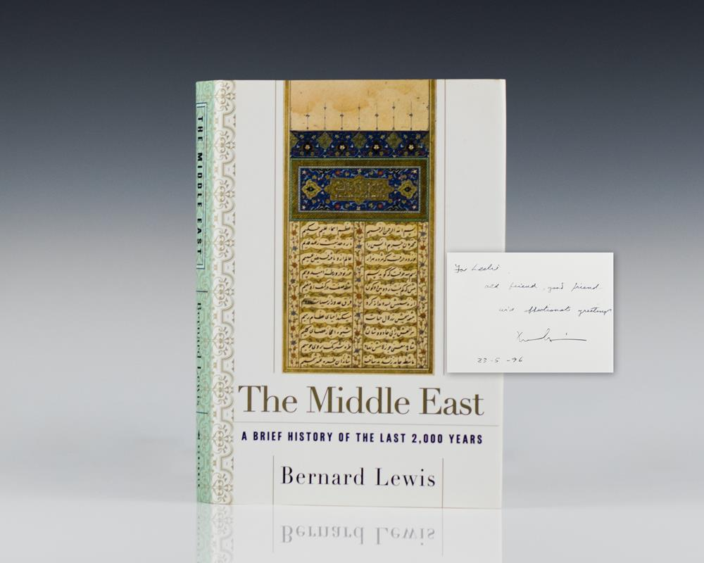 The Middle East: A Brief History of the Last 2,000 Years.