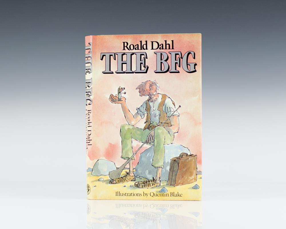The BFG: Illustrations by Quentin Blake.