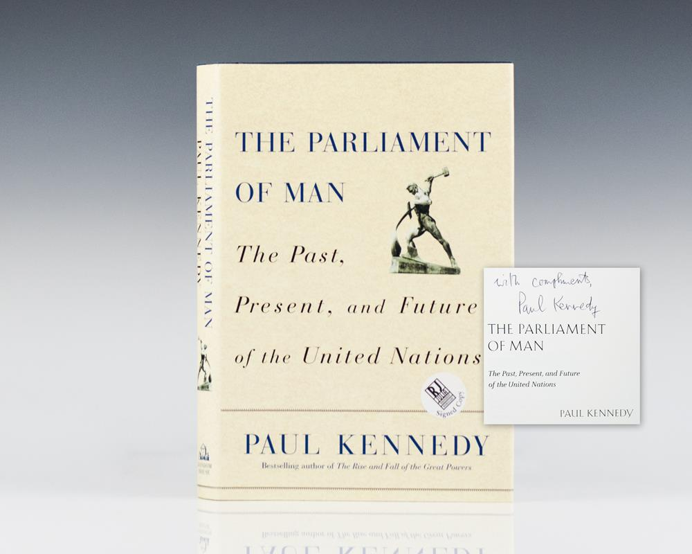 The Parliament of Man: The Past, Present, and Future of the United Nations.