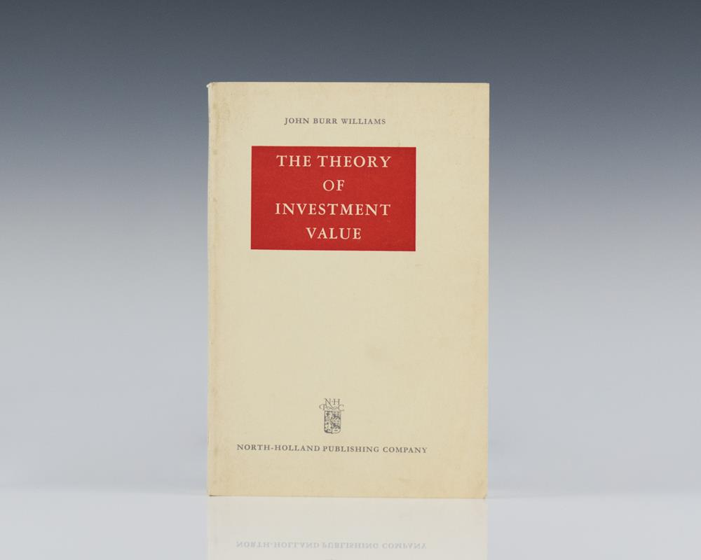 the theory of investment value pdf