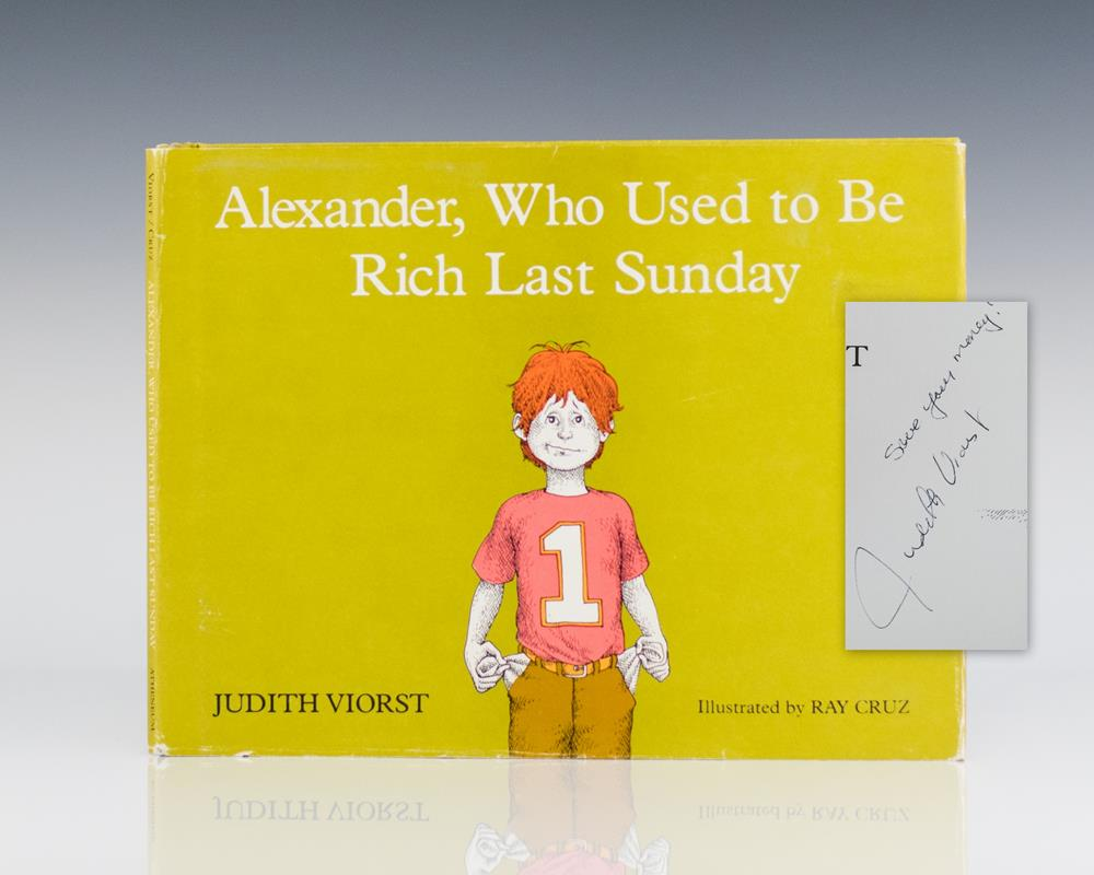 Alexander, Who Used to Be Rich Last Sunday.