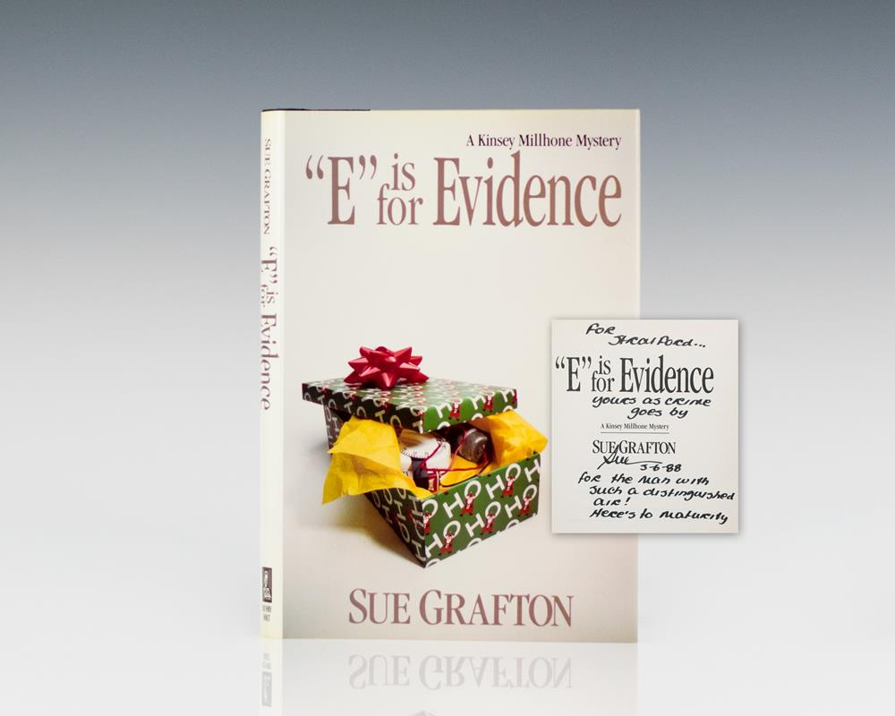 E Is For Evidence.
