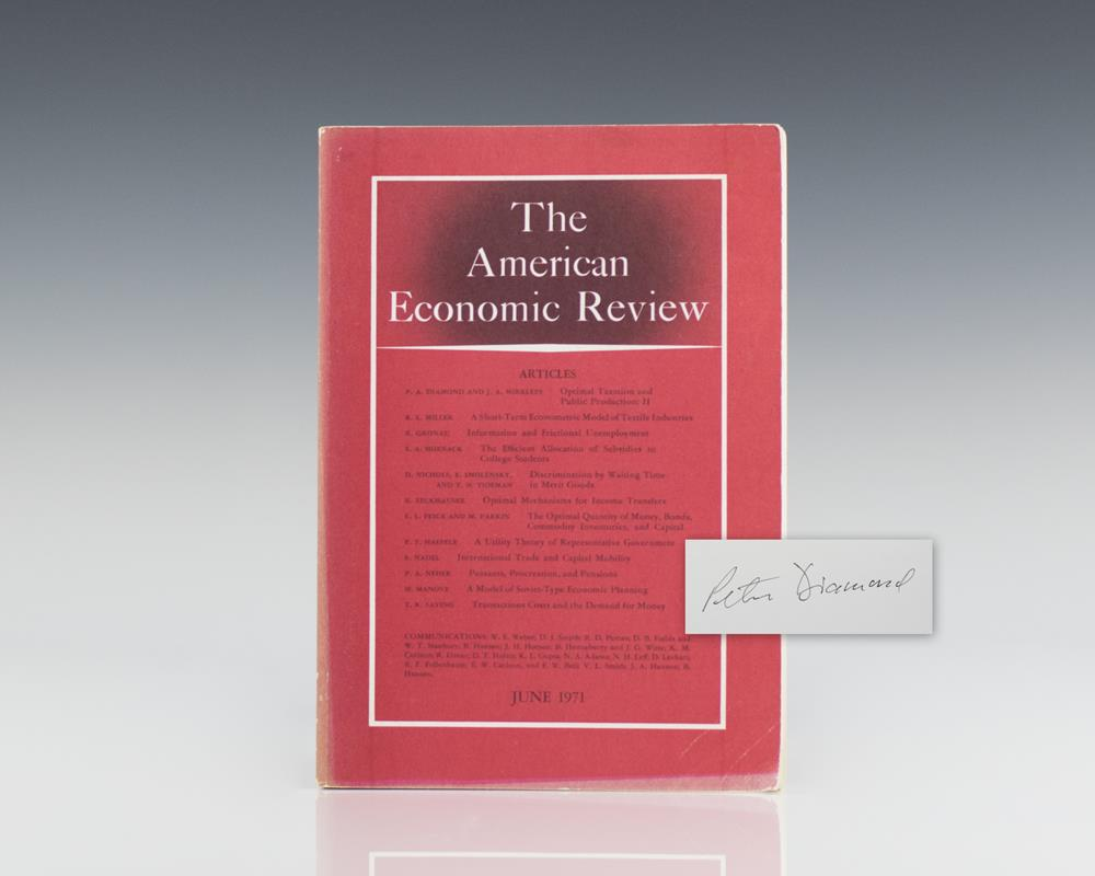 The American Economic Review.