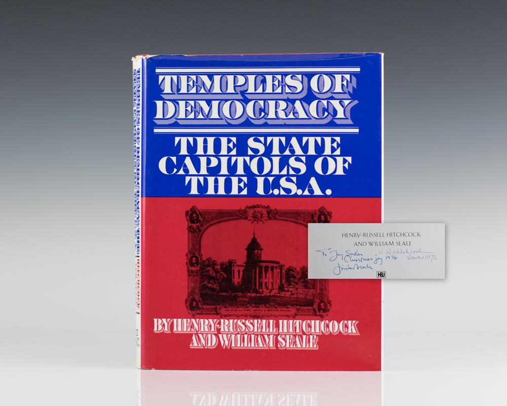 Temples of Democracy: The State Capitals of the U.S.A.