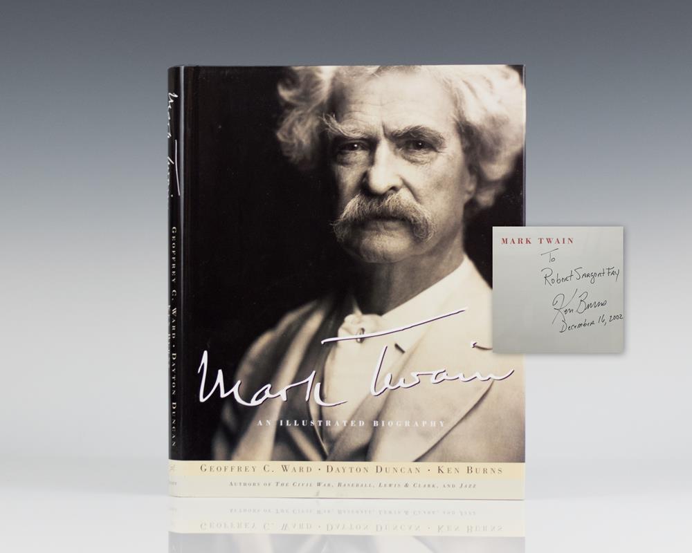 Mark Twain: An Illustrated Biography.