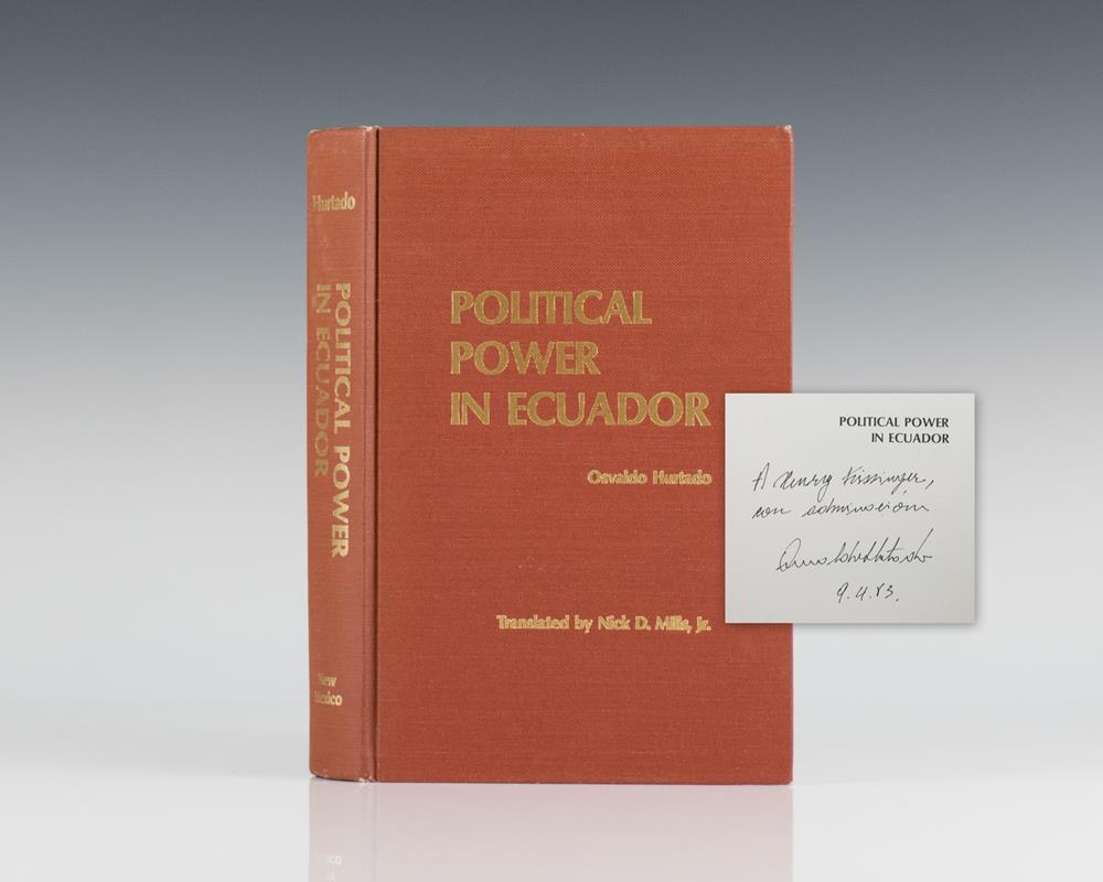 Political Power in Ecuador.