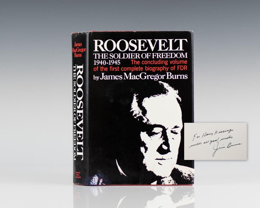 Roosevelt: The Soldier of Freedom: 1940-1945.