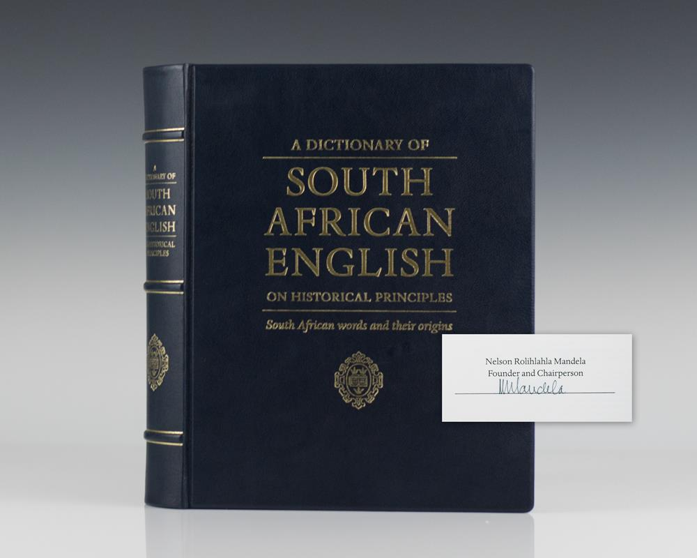 A Dictionary of South African English On Historical Principles: South African Words and Their Origins.