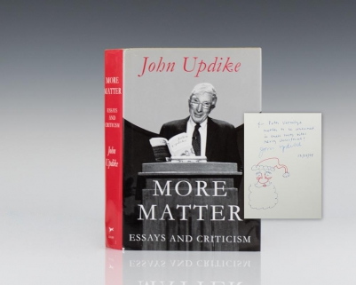 More Matter: Essays and Criticism.