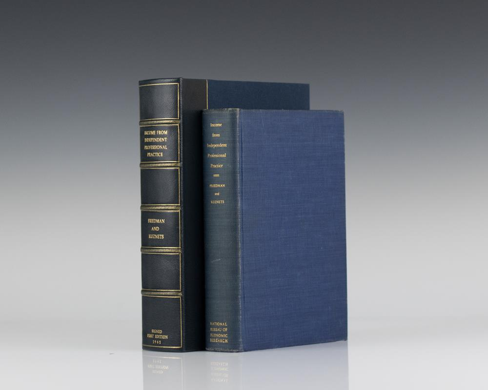 income from independent professional practice milton friedman income from independent professional practice