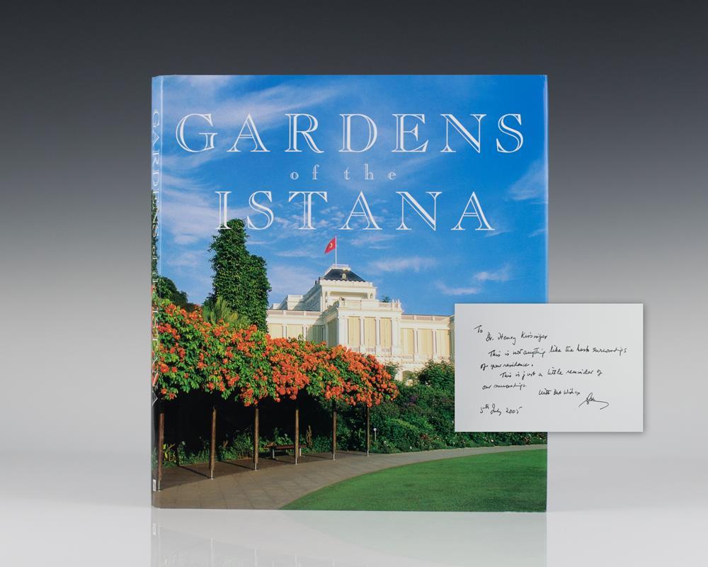 Gardens of the Istana.