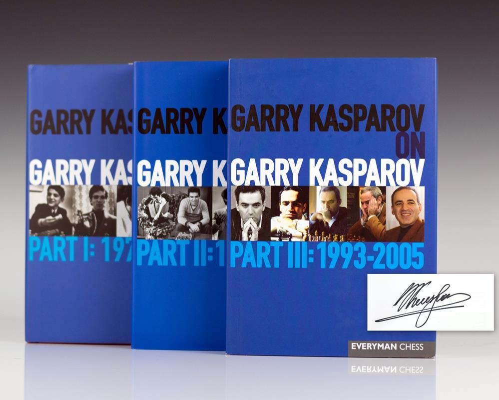Garry Kasparov on Garry Kasparov: Volumes I-3.