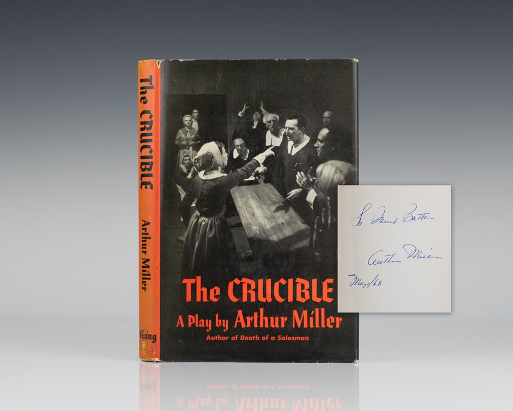 the metaphor of the title in the crucible a play by arthur miller The crucible arthur miller was born in new york city in 1915 (adaptation of a play by ibsen) the crucible earlier version copyrighted under the title those.