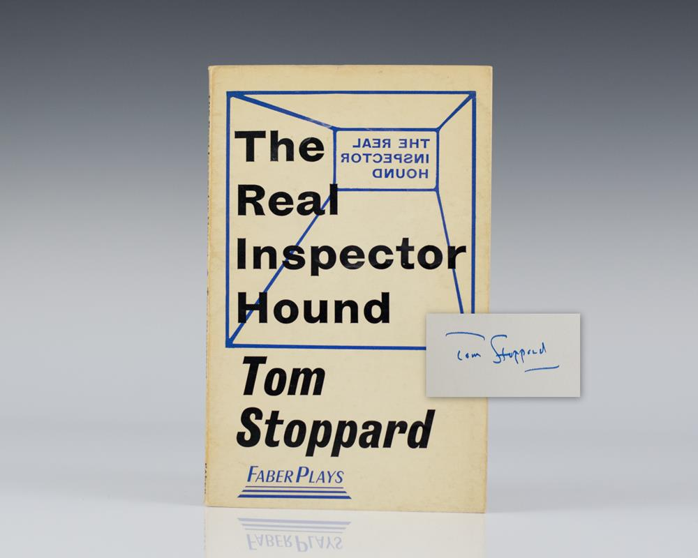 an introduction to the real inspector hound by tom stoppard The real inspector hound study guide contains a biography of tom stoppard,  quiz questions, major themes, characters, and a full summary.