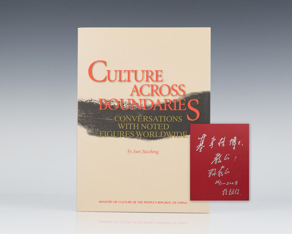 Culture Across Boundaries: Conversations With Noted Figures Worldwide.