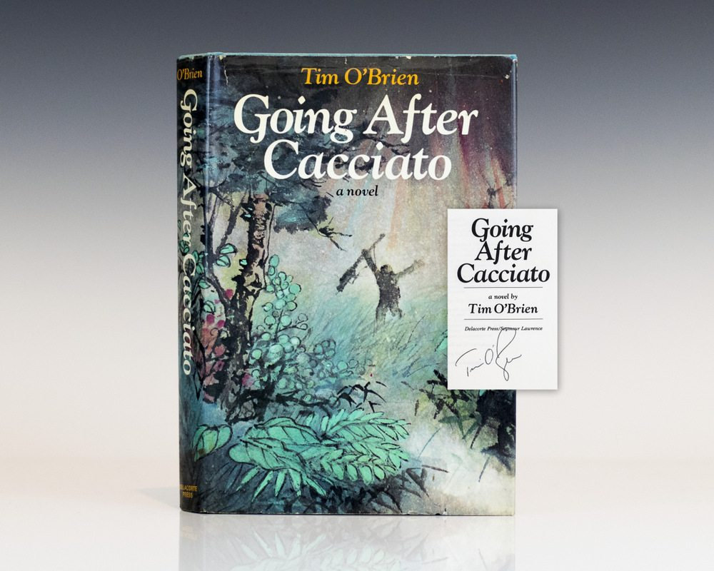 going after cacciato essays A review of the novel going after cacciato by tim o'brien and the concept of villainy.