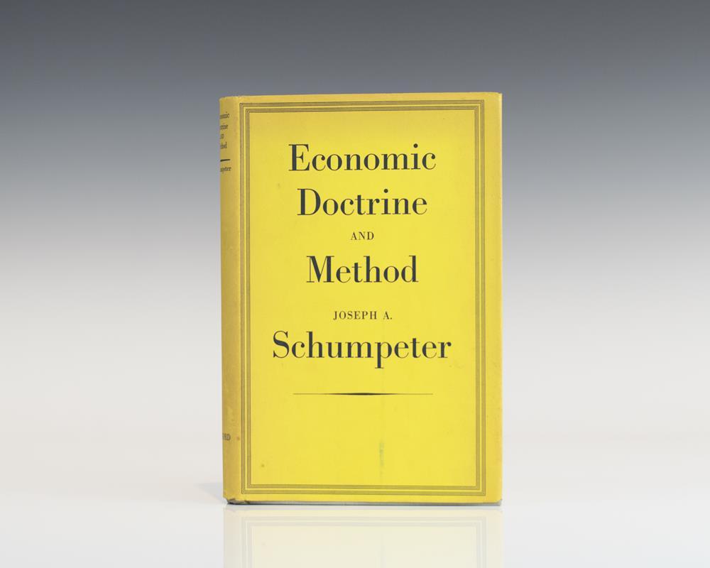 Economic Doctrine And Method.