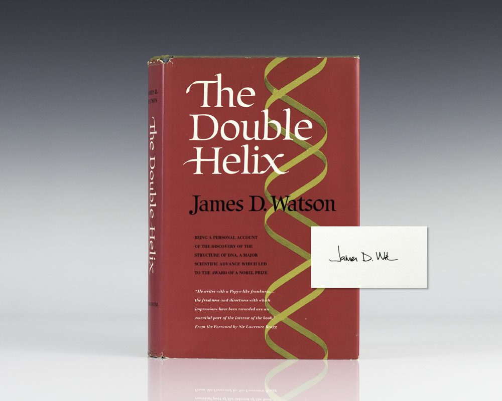 the double helix by james watson essay James watson's the double helix: a review a review of watson, james d the double helix new york: atheneum, 1968 james watson's account of the events that led to the discovery of the.