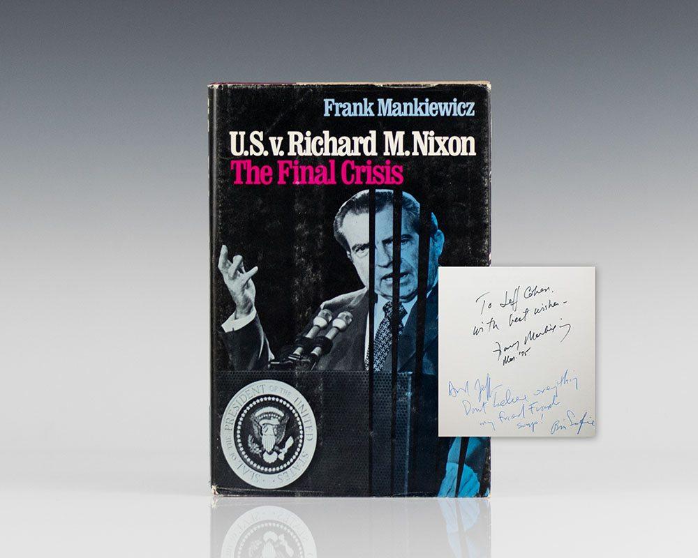 The U.S. V Richard M. Nixon: The Final Crisis.