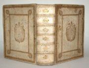 Claudii Claudiani Opera rare first edition vellum binding
