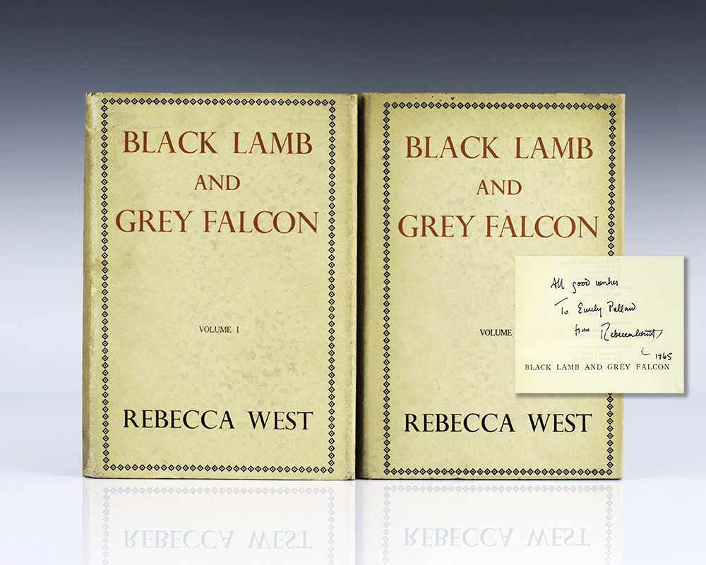 Black Lamb and Grey Falcon: The Record of a Journey Through Yugoslavia in 1937.