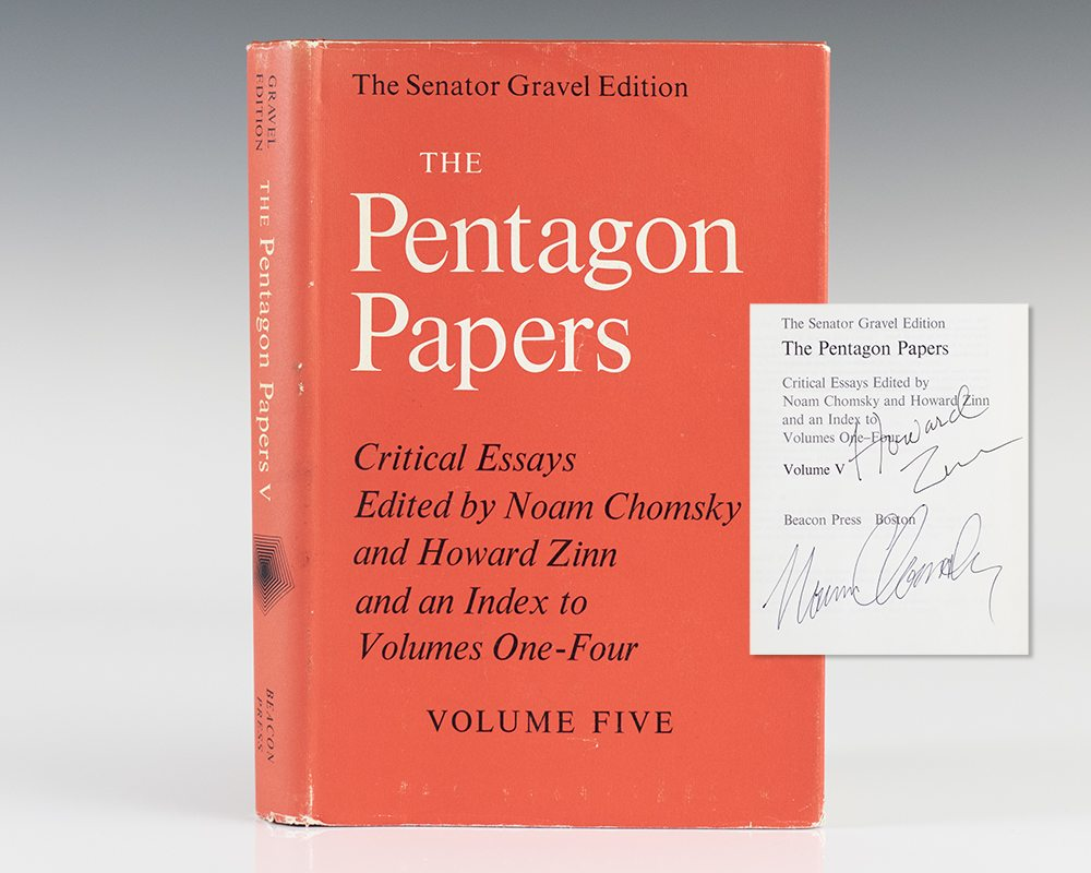 critical essay five papers pentagon volume Full text of the pentagon papersvol 5, critical essays edited by noam chomsky and howard zinn and an index to volumes one-four see other formats.