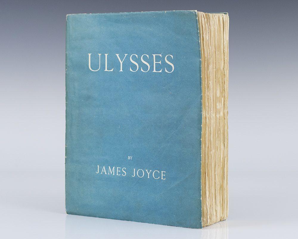Risultati immagini per ulysses joyce first edition