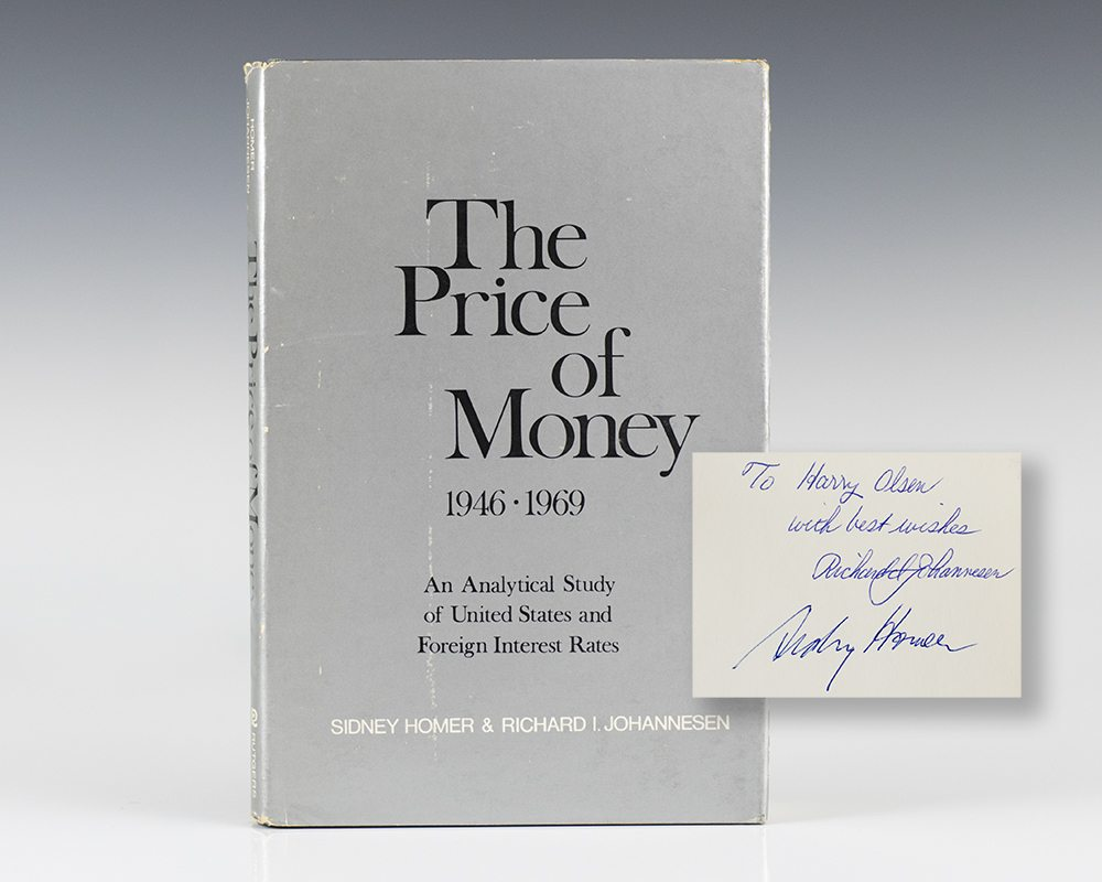 The Price of Money 1946-1969: An Analytical Study of United States and Foreign Interest Rates.