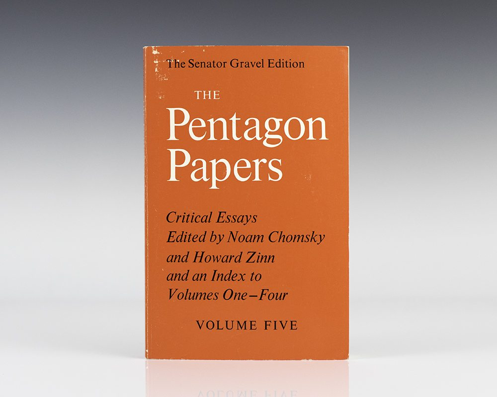 essays on the pentagon papers News about the pentagon papers commentary and archival information about the pentagon papers from the new york times.