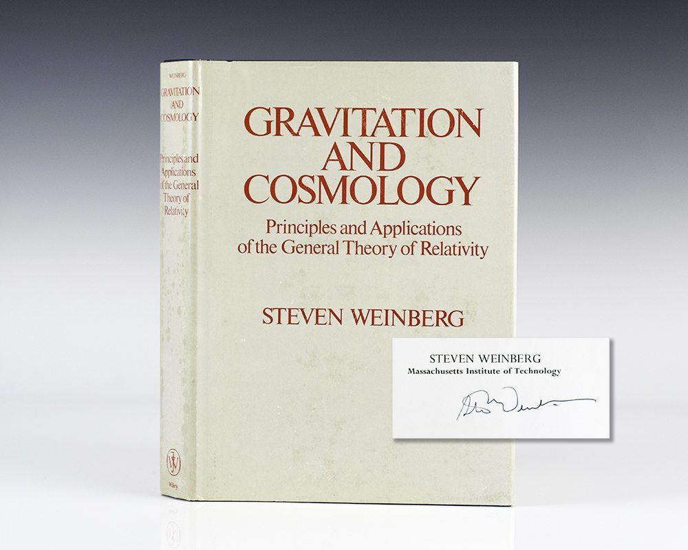 Gravitation And Cosmology: Principles and Applications of the General Theory of Relativity.