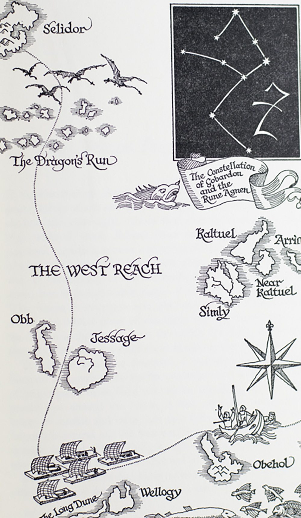 The Wizard of the Earthsea, The Tombs of Atuan, The Farthest Shore.