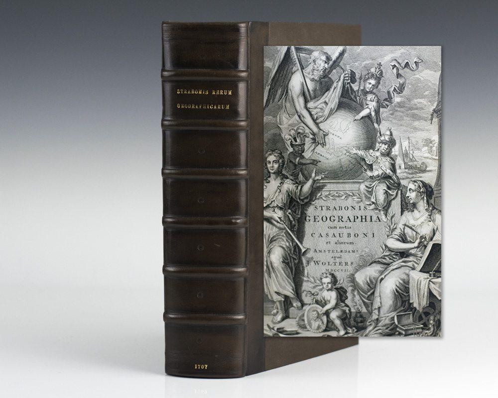 Strabonis Geographia cum notis Casauboni et aliorum.