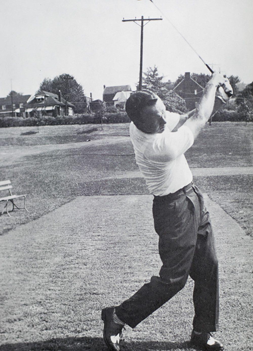 "Arnold Palmer's Golf Book ""Hit it Hard!"""