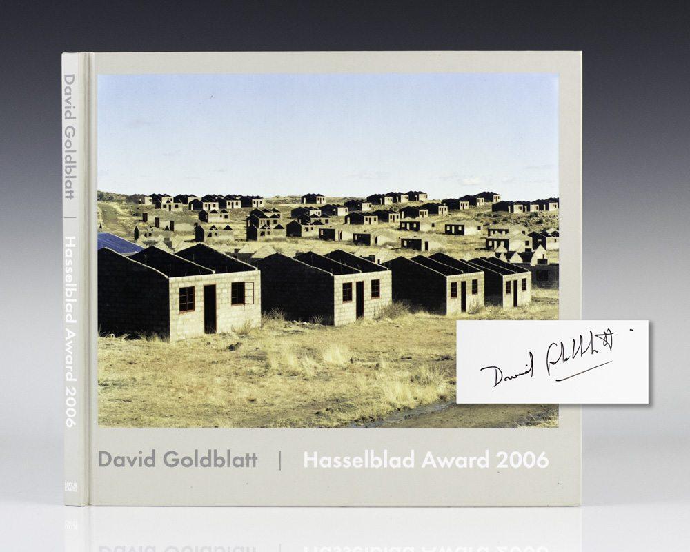 David Goldblatt: Hasselblad Award 2006.