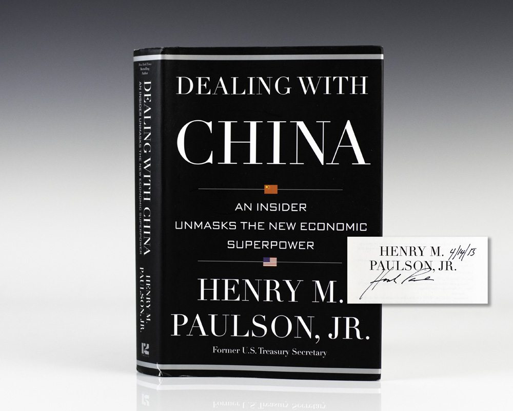 Dealing with China: An Insider Unmasks the New Economic Superpower.