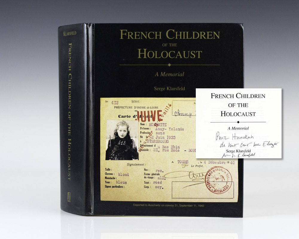 French Children of the Holocaust: A Memorial.