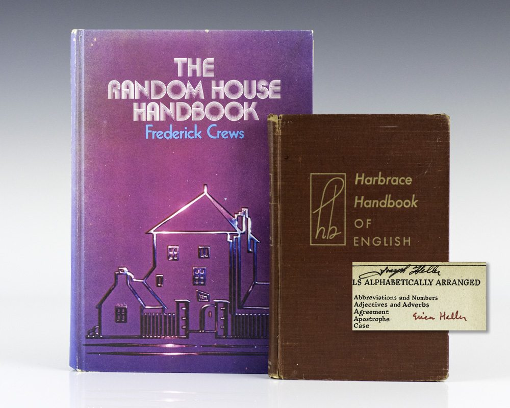 Harbrace Handbook of English and The Random House Handbook.